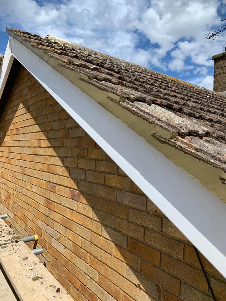 Repaired Roof Storm Damage